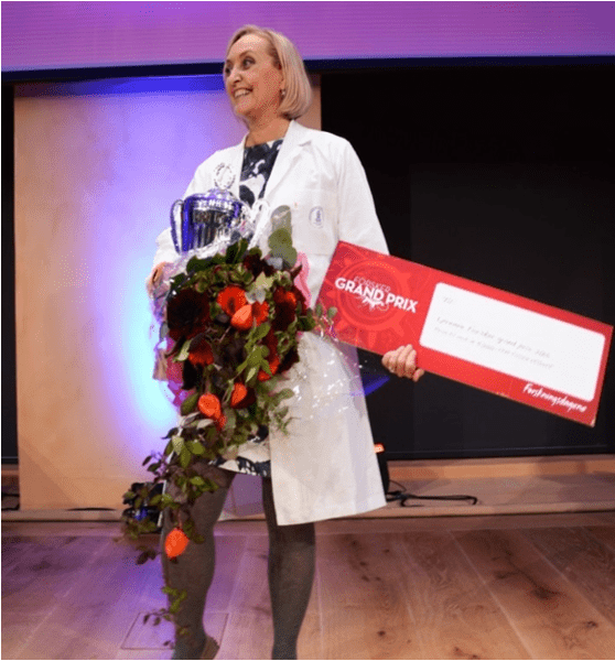 2015: PhD candidate Cecilie Gjerde won the Forsker Gran Pris in Norway (Gold final Award)