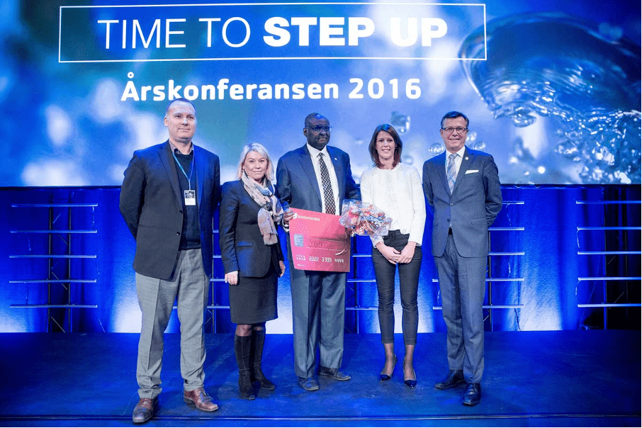 2016: Kamal and his team got the price for the Idea Competition Award, Sparebanken Vest, Bergen.